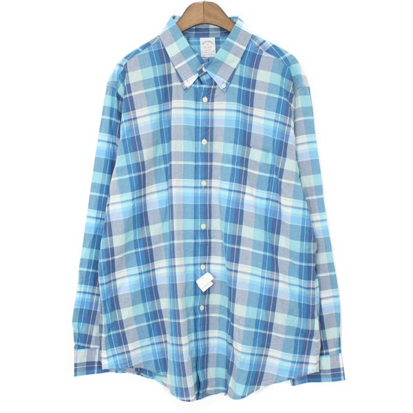 [New] Brooks Brothers Light Cotton Check Shirts