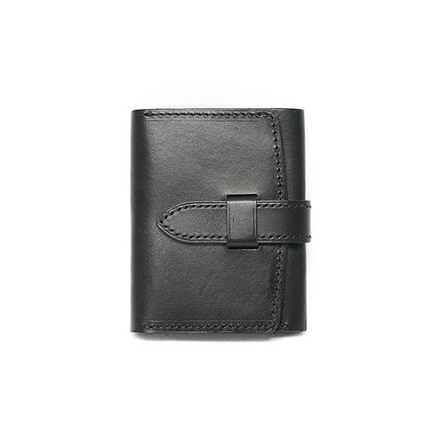 Sam's Warehouse Crafted by Raygoods 1900's Trifold Wallet [Dakota, Black]