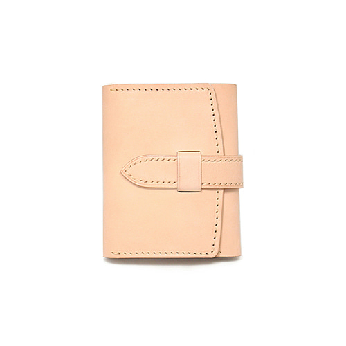 Sam's Warehouse Crafted by Raygoods 1900's Trifold Wallet [Dakota, Beige]
